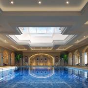 游泳池设计整体图