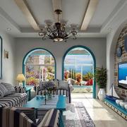别墅魅力客厅装饰