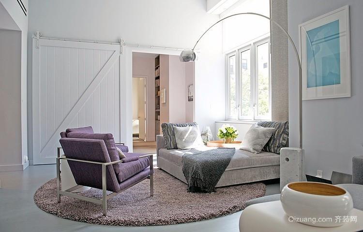 欧式后现代风格复式别墅2居装潢设计效果图