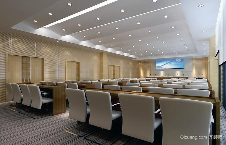 精致的都市会议室吊顶装修效果图鉴赏
