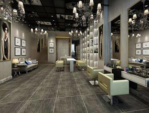 时尚风格发廊装修效果图片