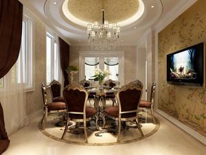 典雅尊贵混搭风格别墅装修设计效果图