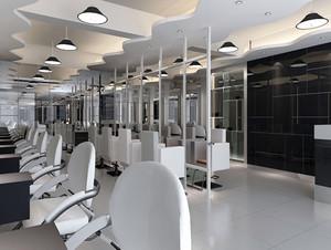 60平米简朴型发廊装修效果图片