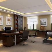 豪华型办公室装修