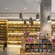 种类齐全书店设计装修效果图
