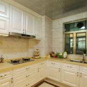 现代欧式大户型厨房橱柜装修效果图鉴赏