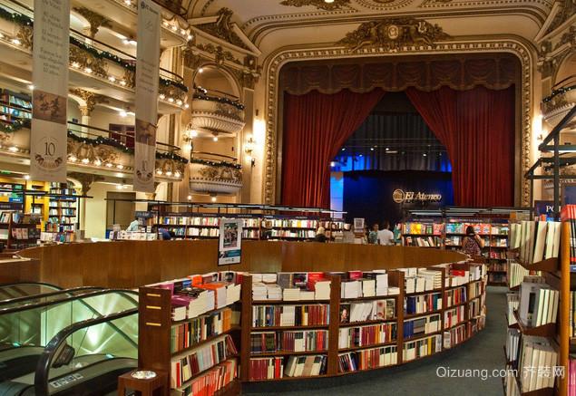 创意型书店设计装修效果图