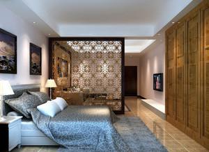 60平米自然风格单身公寓装修效果图