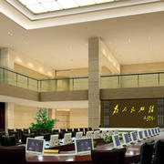 大型办公会议室紫色