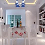现代简约风格新房餐厅装修效果图