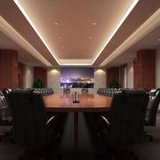 都市风格会议室灯饰装饰