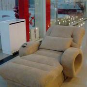 养生会馆可躺式足疗沙发装修效果图