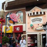 欧式风格冰淇淋店装饰