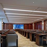 中式大型会议室装饰设计