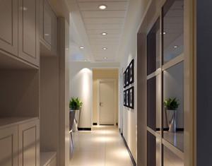 欧式风格别墅过道鞋柜设计