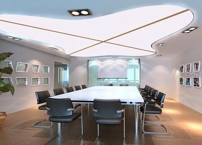 大型现代化办公会议室装修效果图
