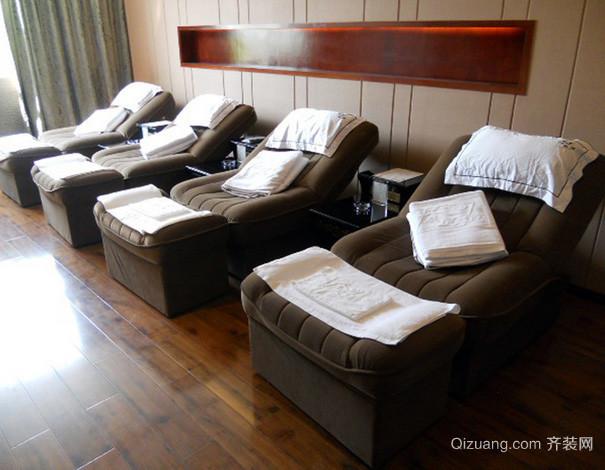 80平米小型足浴馆足疗沙发装修效果图