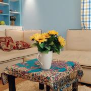 现代简约风格新房客厅沙发装修效果图