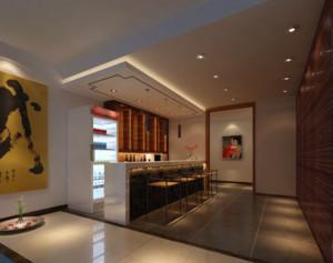 90平米大户型欧式室内吧台装修效果图鉴赏