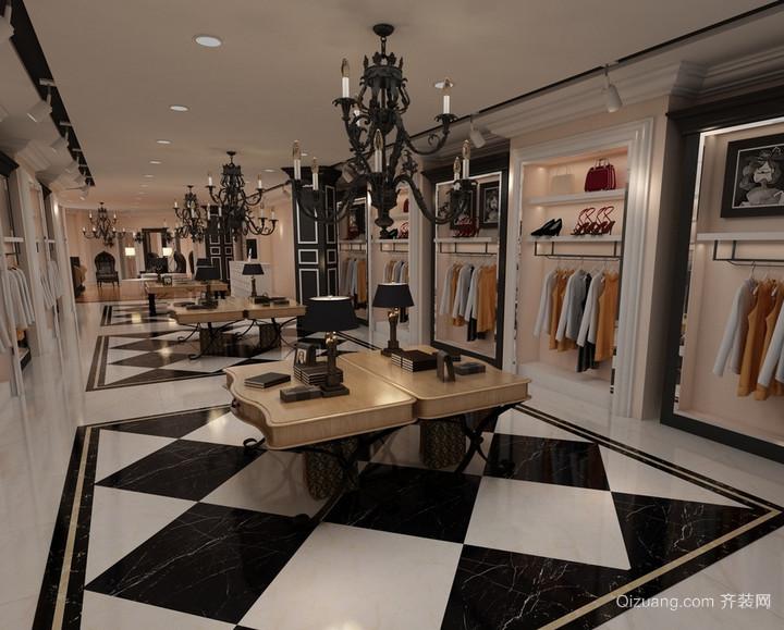 现代唯美的都市小服装店装修效果图鉴赏