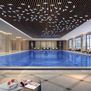 游泳池设计现代设计