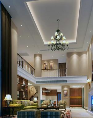 现代唯美的欧式别墅装潢设计装修效果图