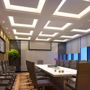 商务大楼豪华型会议室装修效果图