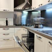 冷色调厨房设计图片