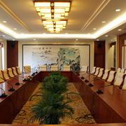 酒店大型会议室装修效果图