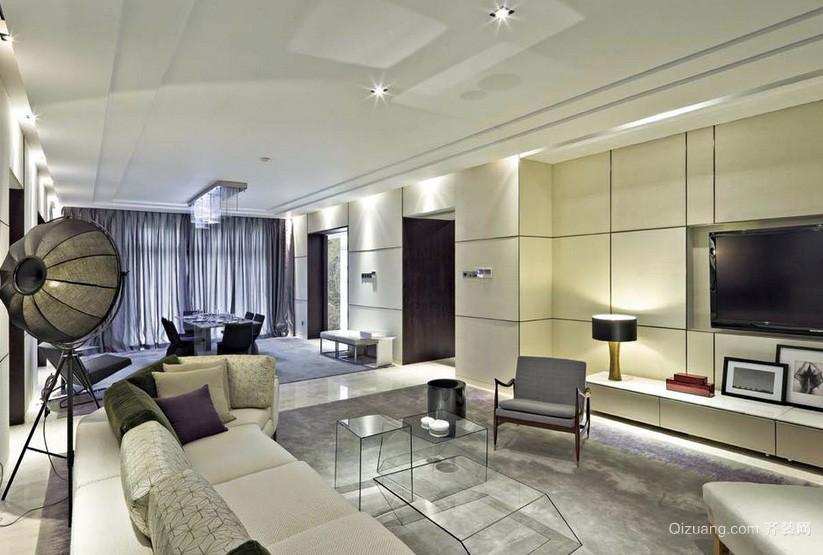 后现代风格120平米客厅装修效果图