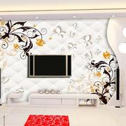 时尚简约90平米家居客厅3d背景墙图片
