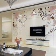 现代背景墙设计图