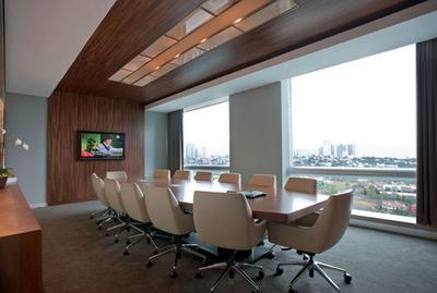 敞亮大气会议室装修效果图