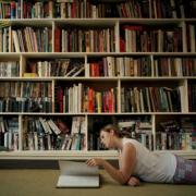 现代精致大户型书房书架装修效果图鉴赏