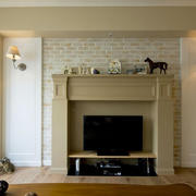 房屋客厅电视背景墙