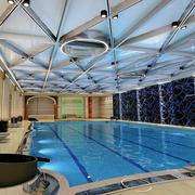 游泳池设计吊顶图