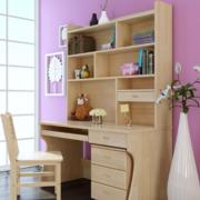 现代大户型唯美的儿童房书桌装修效果图