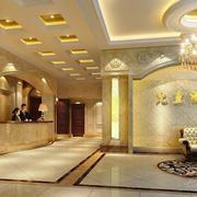欧式豪华酒店大厅装修设计效果图