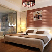 时尚风格床头背景墙