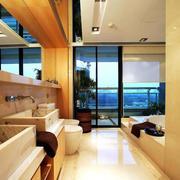 东南亚风格别墅洗漱池装饰