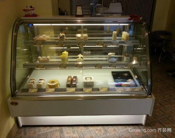 现代简约风格超市蛋糕展示柜装修效果图