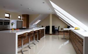 精致大型复式楼阁楼厨房装修效果图