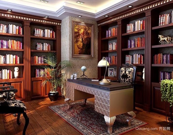 现代家庭小户型小书房装修效果图鉴赏