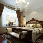 40平米欧式小户型卧室装修效果图实例欣赏