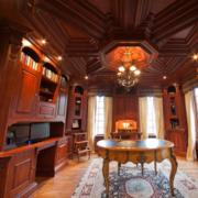 现代欧式实木别墅装修效果图实例欣赏