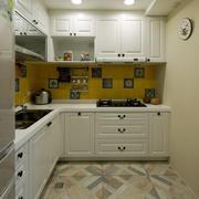 房屋小厨房展示