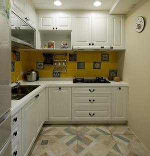 清新素雅100平米三居室房屋装修效果图
