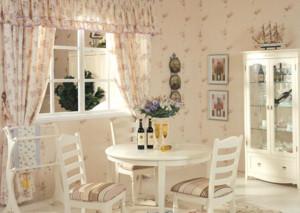 70平米小户型欧式餐厅家庭餐桌椅装修效果图