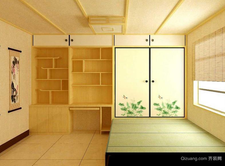 90平米大户型日式风格榻榻米装修效果图
