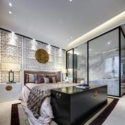 房屋卧室床头背景墙